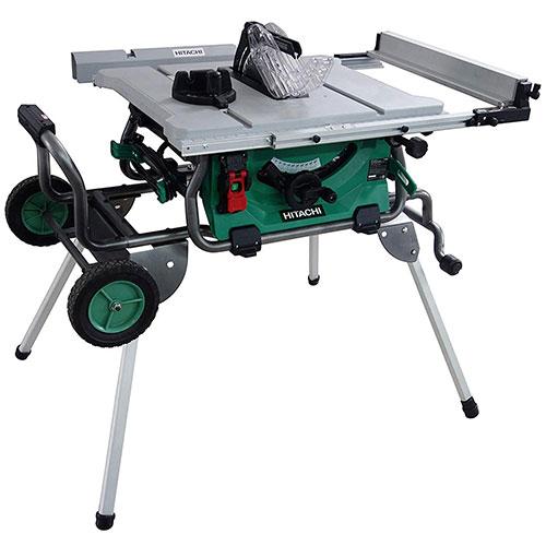 Hitachi C10RJ 10 Inch 15-Amp Jobsite Table Saw