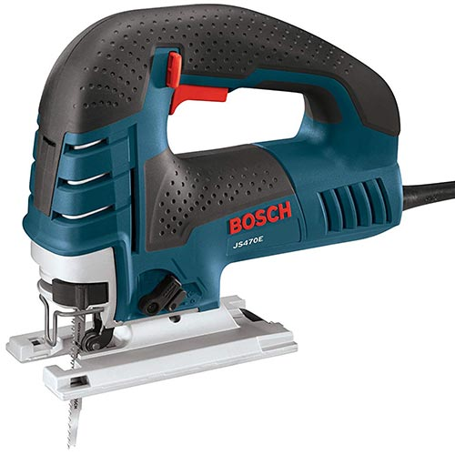 Bosch Power JS470E Corded Variable Speed Top-Handle Jigsaw