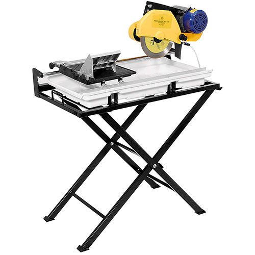 QEP 60020SQ 24-Inch Dual Speed Tile Saw with Water Pump and Stand
