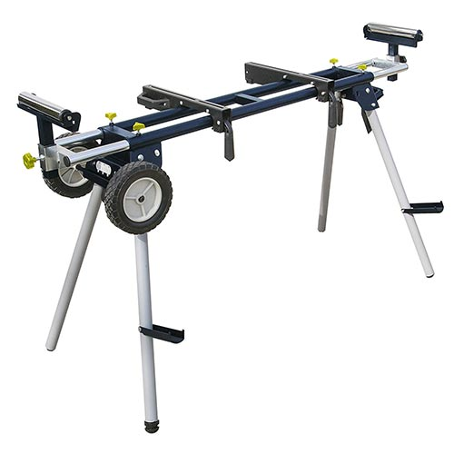 POWERTEC MT4000 Deluxe Miter Saw Stand with Wheels