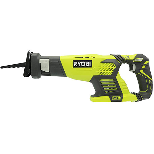 Ryobi P514 18V Cordless One+ Variable Speed Reciprocating Saw