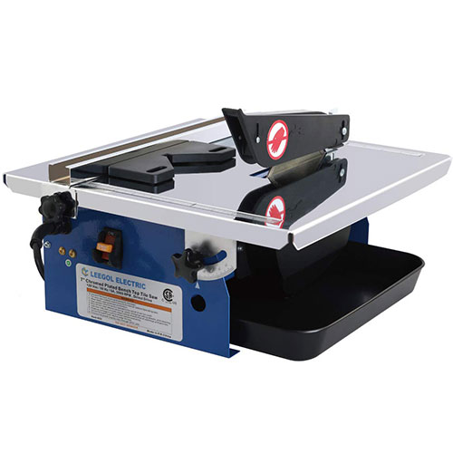 Leegol Electric 7-Inch Portable Wet Tile Saw