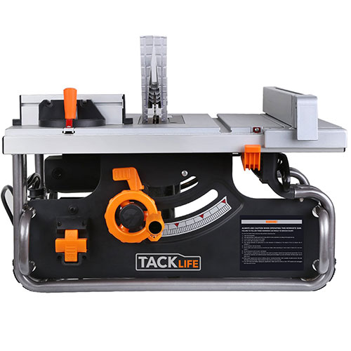 Tacklife PTSG1A 10-Inch Table Saw with 40X20 inch Max Extendable Work Table