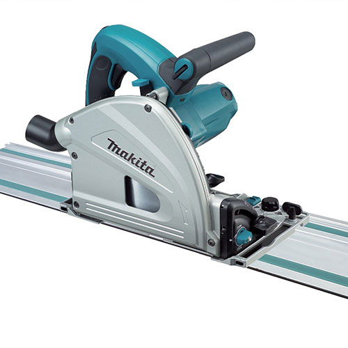 Makita SP6000J1 6-1/2-Inch Plunge Circular Saw with Guide Rail