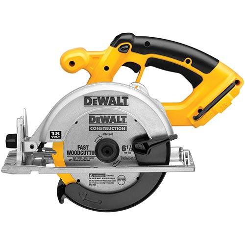 DEWALT DC390B 6.5-Inch 18-Volt Cordless Circular Saw